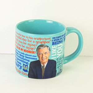 "Ceramic Coffee Mug - Mr. Rogers ""Sweater Changing"" Mug"