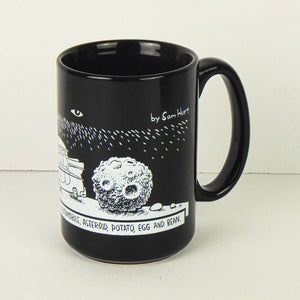 Ceramic Coffee Mug - Objects in the Universe by Sam Hurt