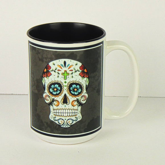 Ceramic Coffee Mug - Sugar Skull