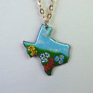 Necklace - Texas Flowers by Copper Maiden Austin