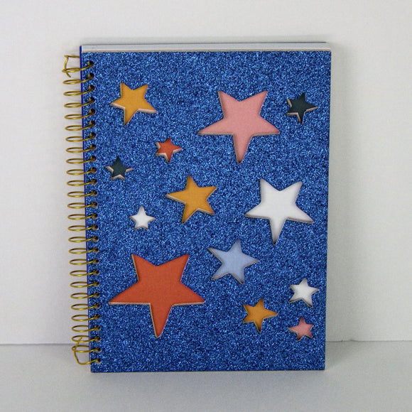 Notebook: Star Powered Mini Notebook
