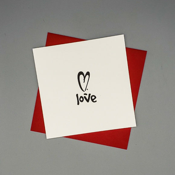 Notecard - Love by XOXO from Austin