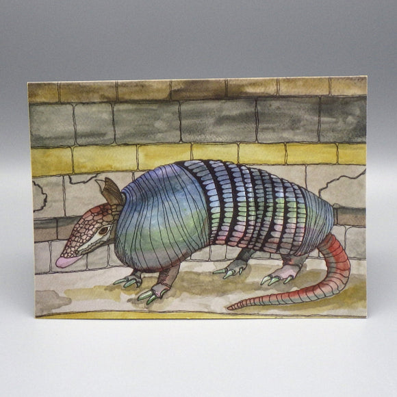 Notecard - Armadillo by Connie Adcock