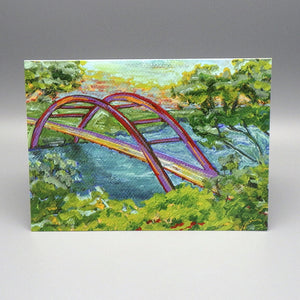 Notecard - Bridge by Connie Adcock