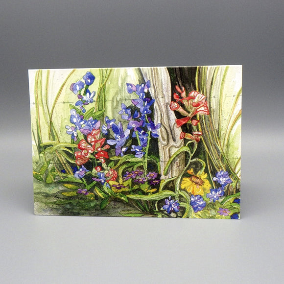 Notecard - Flowers by Connie Adcock