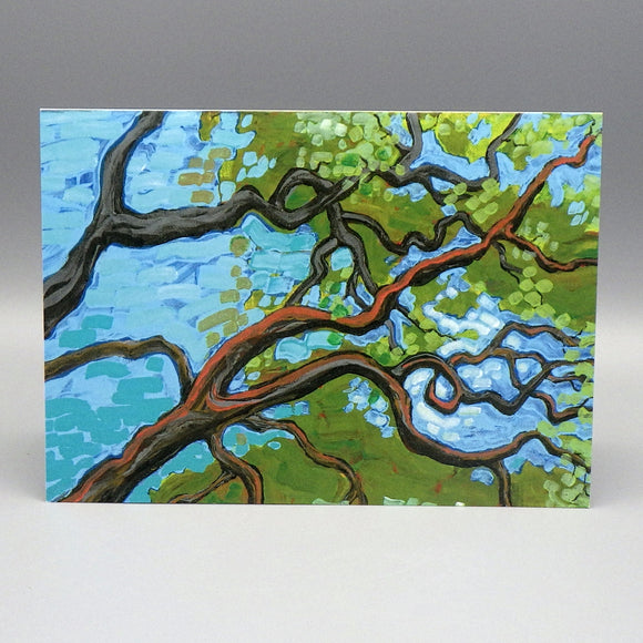 Notecard - Tree by Connie Adcock