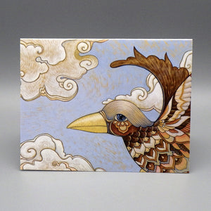 Notecard - Fairytale Bird by Eya Claire