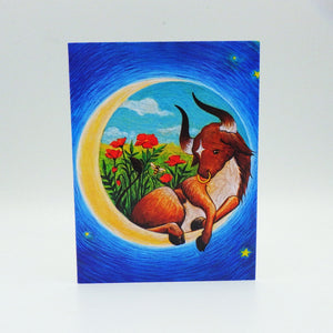 Notecard - Taurus by Eya Claire
