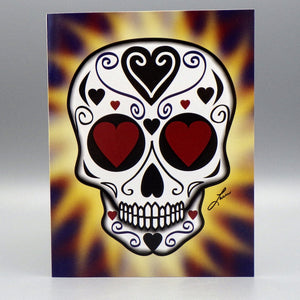 Notecard - Amor Eterno by Frenzy Art