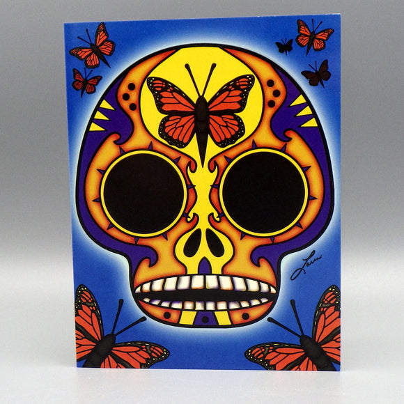 Notecard - Mariposa by Frenzy Art