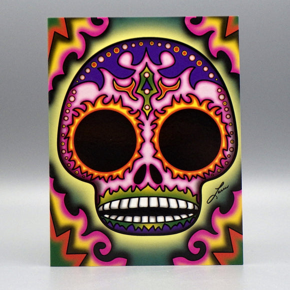 Notecard - Ojos de Fuego by Frenzy Art