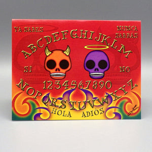 Notecard - Tabla de los Muertos by Frenzy Art