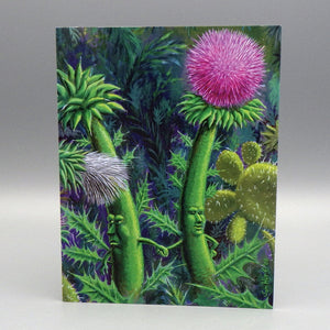 Notecard - Thistle Alliance by Sam Hurt
