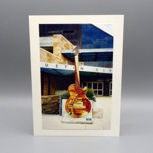 Notecard - Guitar by Anita Craig