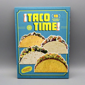 Notecards & Envelopes - ¡Taco Time!
