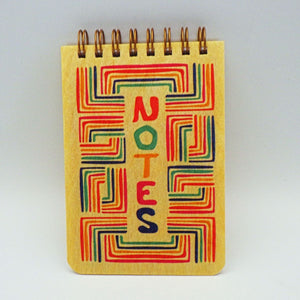 "Wooden Notepad - ""Notes"""