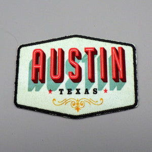 Iron On Patch - Austin Texas