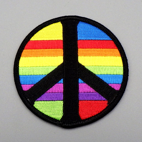 Patch - Rainbow Peace Sign