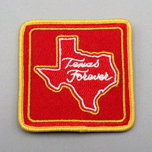 Patch - Texas Forever (Red on Red)