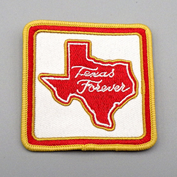 Patch - Texas Forever (Red on White)