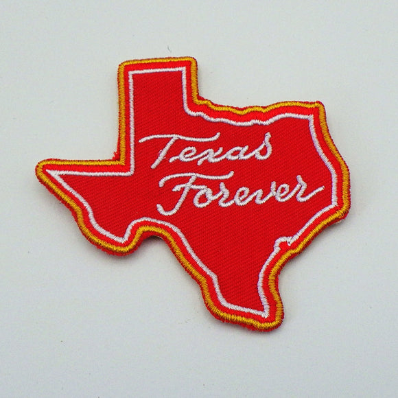 Patch - Texas Forever in Red