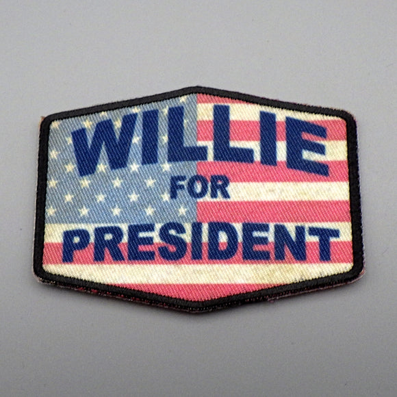 Iron On Patch - Willie for President