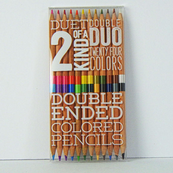 Colored Pencils: Double Ended
