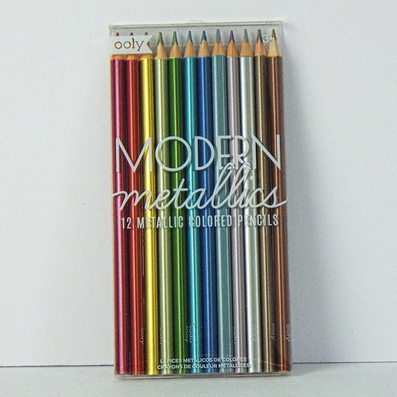 Colored Pencils: Modern Metallics