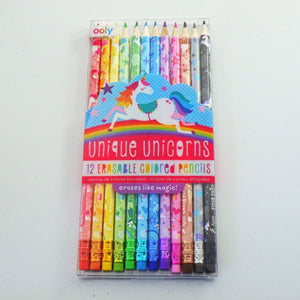 Colored Pencils: Unique Unicorns