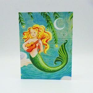 Notecard - Mermaid by Eya Claire