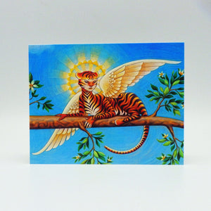 Notecard - Winged Tiger by Eya Claire