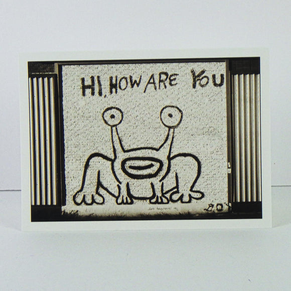 Post Card - Hi, How Are You?