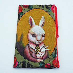 Coin Bag - Baby Bunny by Eya Claire