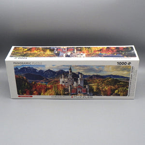 Jigsaw Puzzle - Neuschwanstein Castle in Autumn (1000 Pcs)