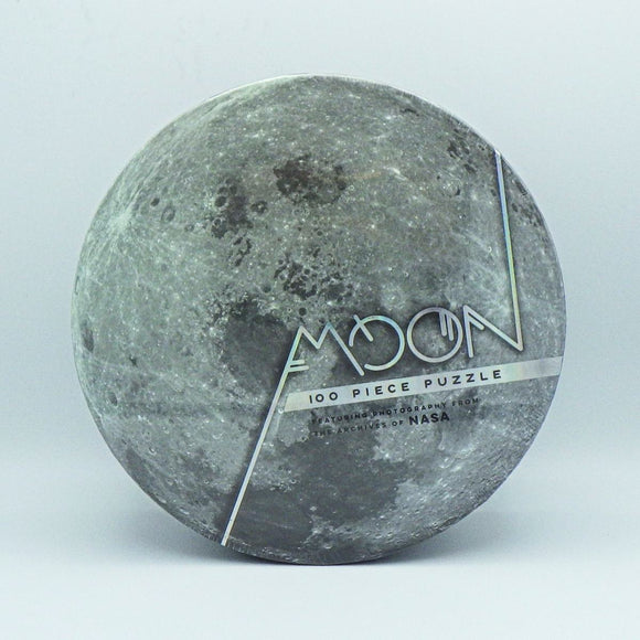 Kids' Jigsaw Puzzle - NASA Moon (100 Pcs)