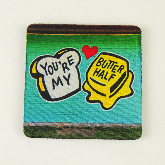 Rubber Coaster - You're My Butter Half