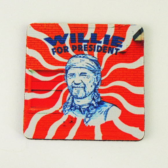 Rubber Coaster - Willie For President