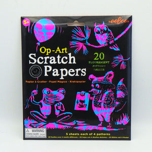 Scratch Papers - Op Art