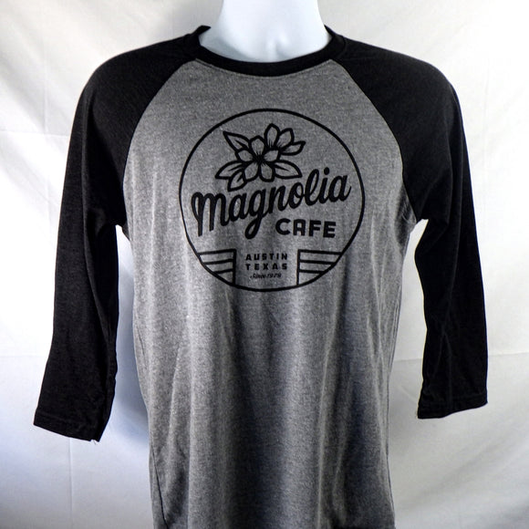 Shirt - Magnolia Baseball Sleeve, Black