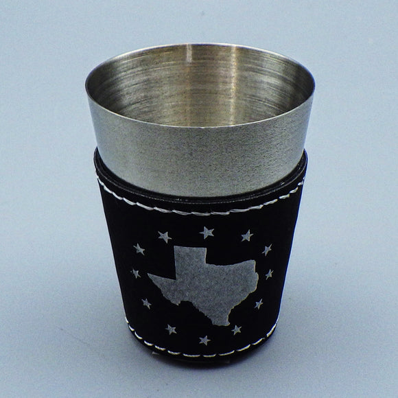 Shotglass - Texas, State and Stars