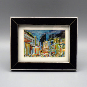"Framed Print - 6th Street by Connie Adcock (3"" x 2"")"