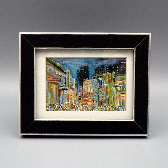 Framed Print - 6th Street by Connie Adcock (3