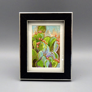 "Framed Print - Desert Beauty by Connie Adcock (3"" x 2"")"