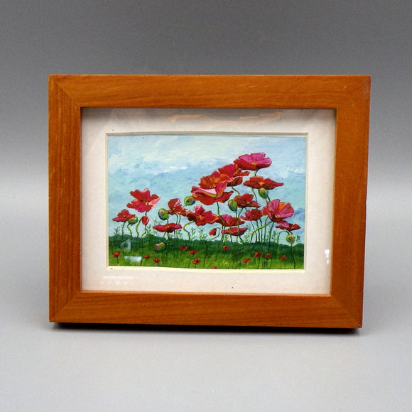 Framed Print - Field of Poppies by Connie Adcock (3