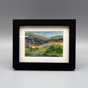 "Framed Print - Hill Country by Connie Adcock (3"" x 2"")"