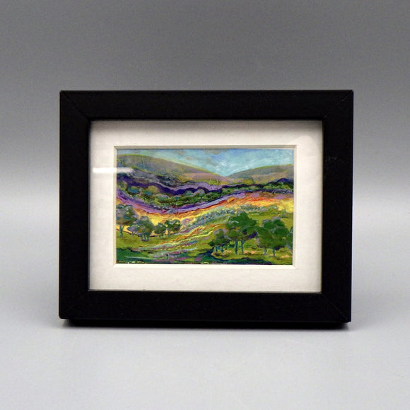 Framed Print - Hill Country by Connie Adcock (3