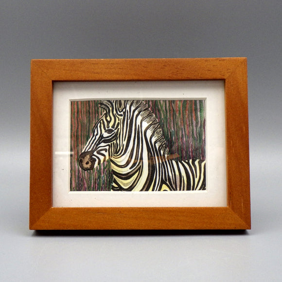 Framed Print - Stripes by Connie Adcock (3