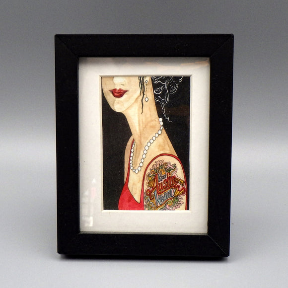 Framed Print - Tattoo by Connie Adcock (3