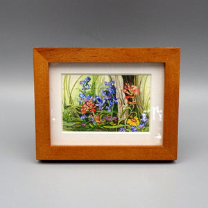 "Framed Print - Texas Spring by Connie Adcock (3"" x 2"")"