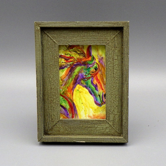 Framed Print - Wild Rush by Connie Adcock (3